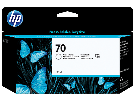 HP 70 Gloss Enhancer Ink Cartridge C9459A