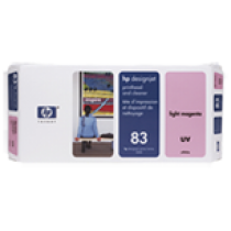 HP 83 UV Light Magenta Printhead and Printhead Cleaner C4965A